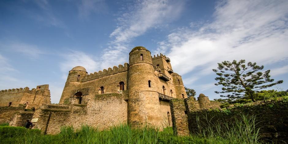 Le fameux Château de Fasilidas